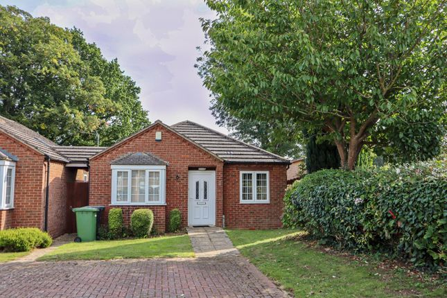 Thumbnail Detached bungalow for sale in Farleigh Court, Uppingham, Oakham