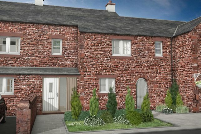 Thumbnail Terraced house for sale in Plot 7, The Old Sawmill, Warcop, Appleby-In-Westmorland, Cumbria