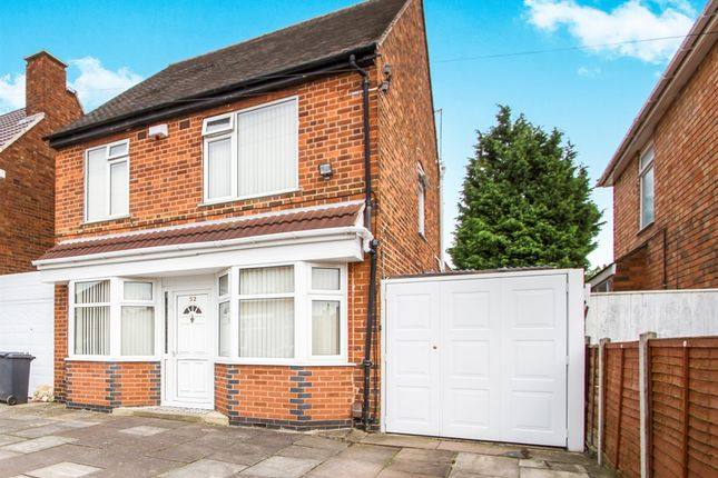 3 bed detached house for sale in Egerton Avenue, Leicester