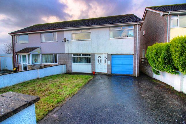 3 bed semi-detached house for sale in Highwood Park, Dobwalls, Liskeard