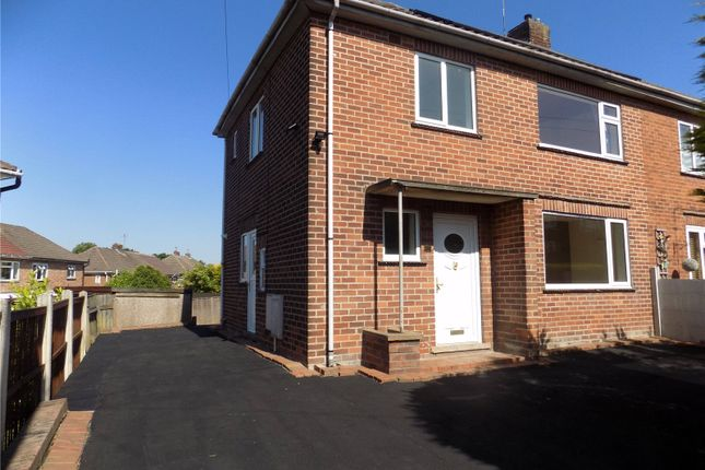 Thumbnail Semi-detached house for sale in Horsley Crescent, Langley Mill, Nottingham, Derbyshire