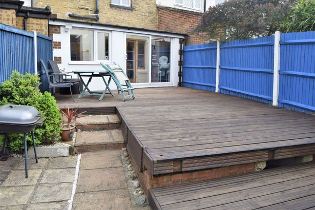 Decking of Wyles Road, Chatham ME4