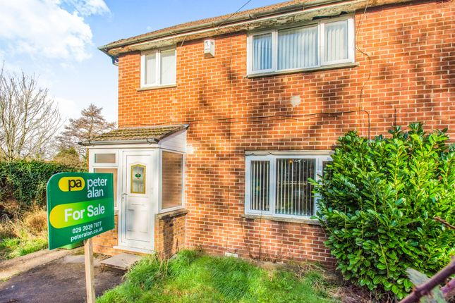 Thumbnail Semi-detached house for sale in Heol Muston, Ely, Cardiff