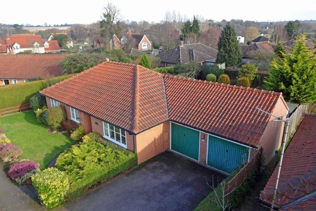 Thumbnail Detached bungalow for sale in The Walnuts, Ufford, Woodbridge