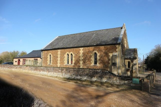 Thumbnail Detached house for sale in The Old Chapel And Chapel Cottage, Main Road, Narborough, Norfolk