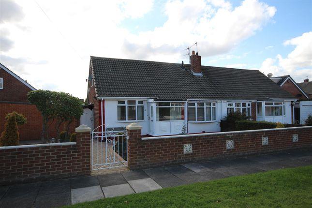 Thumbnail Semi-detached bungalow for sale in Windsor Drive, Cleadon, Sunderland