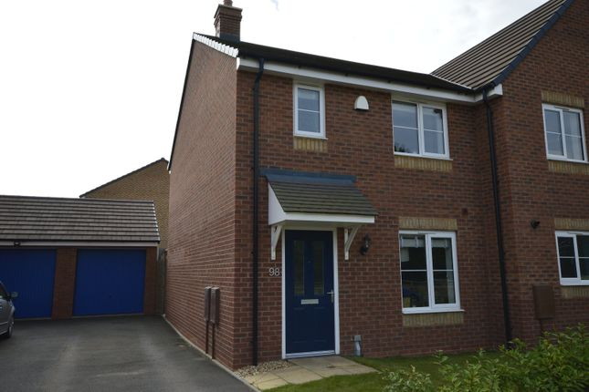 Thumbnail 3 bed semi-detached house for sale in Stone Drive, Shifnal, Shropshire