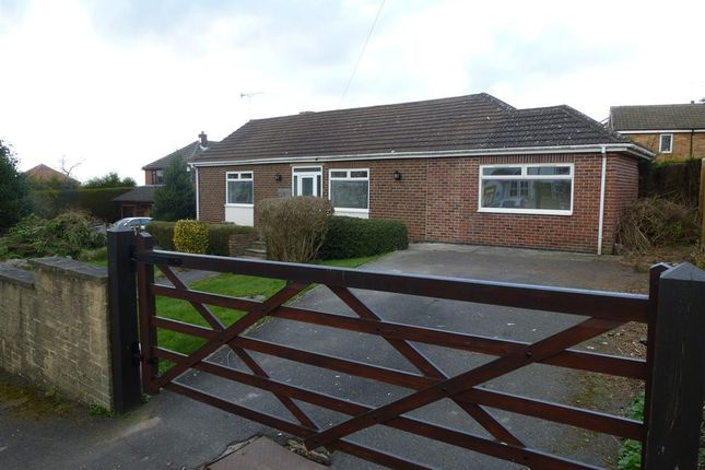 Thumbnail Bungalow to rent in Hall Lane, Brinsley, Nottingham