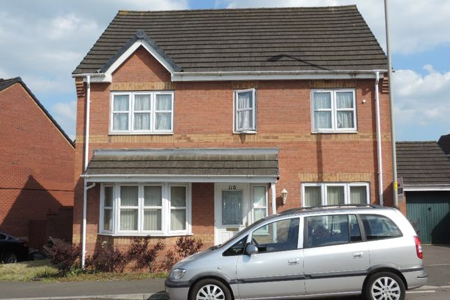Thumbnail Detached house to rent in Columbine Road, Hamilton, Leicester