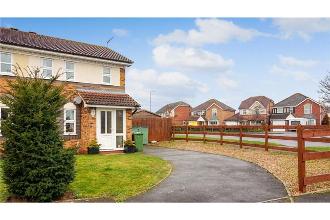 Thumbnail Semi-detached house for sale in Columbine Grove, Evesham