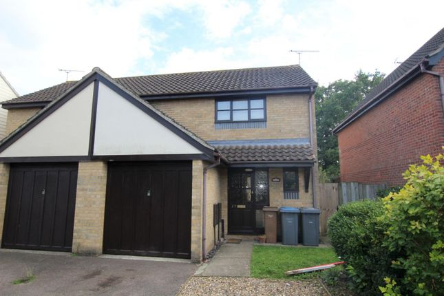 Thumbnail Semi-detached house to rent in Dewar Lane, Kesgrave, Ipswich