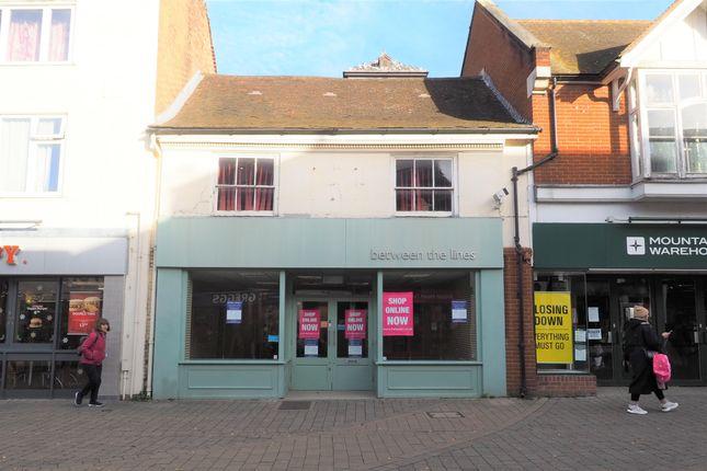 Thumbnail Retail premises to let in West Street, Horsham