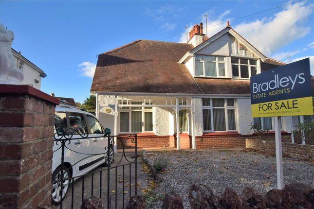 Thumbnail Semi-detached house for sale in Oldway Road, Paignton, Devon