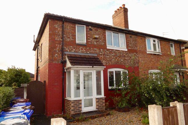 Thumbnail Semi-detached house for sale in Mauldeth Road West, Withington, Manchester