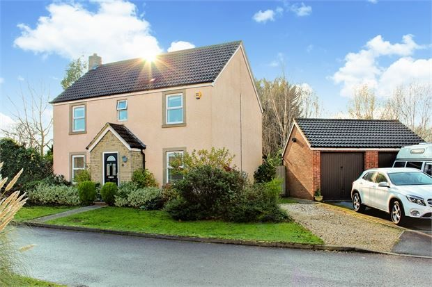 Thumbnail Detached house for sale in Shadow Walk, Elborough Village, Weston Super Mare, North Somerset.