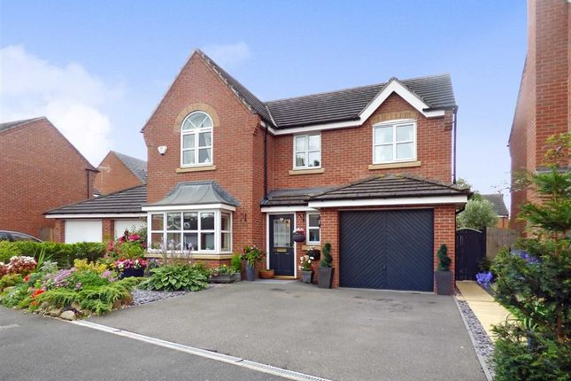 Thumbnail Detached house for sale in Salisbury Close, Crewe