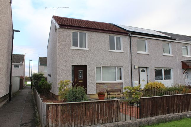Thumbnail End terrace house to rent in Afton Court, Braehead, Stirling