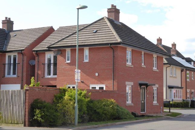 Thumbnail Detached house to rent in John Clare Close, Oakham