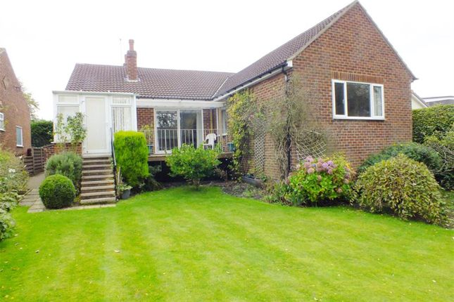 Thumbnail Detached bungalow for sale in The Drive, Alwoodley, Leeds