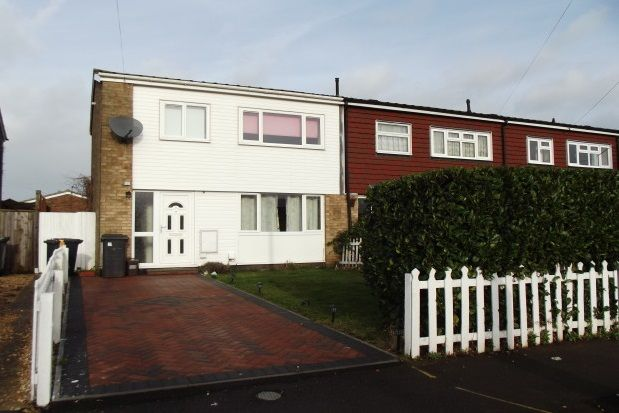 Thumbnail Semi-detached house to rent in Holme Crescent, Biggleswade