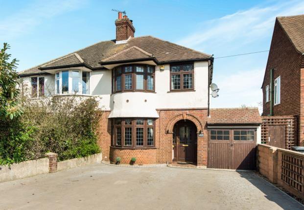 Thumbnail Semi-detached house for sale in Watling Street, Dartford, Kent