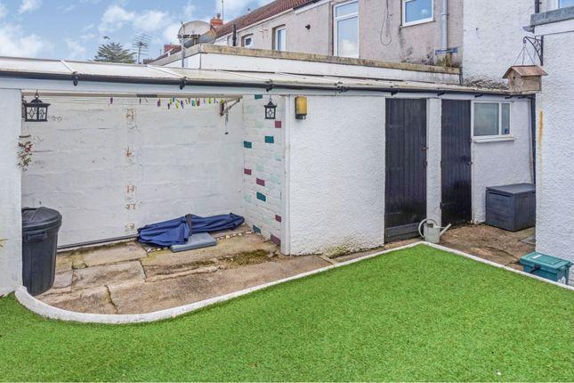 Rear Garden of Glen Road, West Cross, Swansea SA3