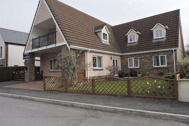 Thumbnail Detached house for sale in Llys Y Nant, Off Kings Road, Llandybie