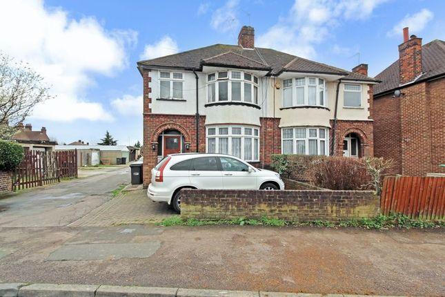 Thumbnail Semi-detached house for sale in Compton Avenue, Leagrave, Luton