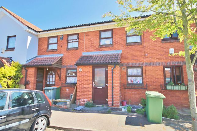 Thumbnail Terraced house to rent in Hickman Close, Beckton, London