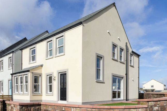 Thumbnail Detached house for sale in Plot 6 (The Dune), Croft Farm Close, Allonby, Cumbria
