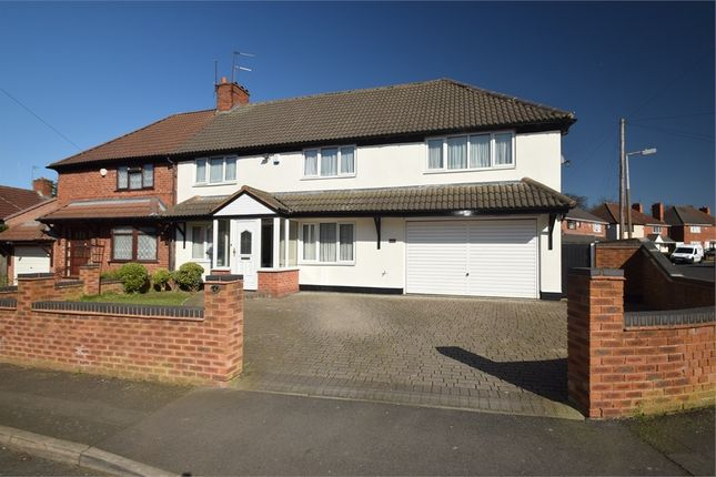 Thumbnail Semi-detached house for sale in Alexandra Crescent, West Bromwich, West Midlands