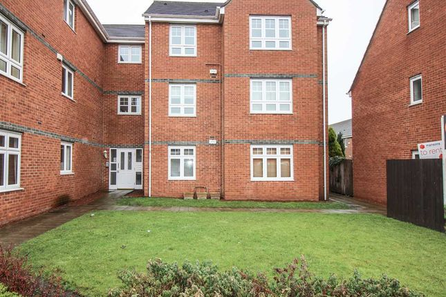 Thumbnail Flat to rent in Oxford Close, West Farm Court, Four Lane Ends, Newcastle Upon Tyne