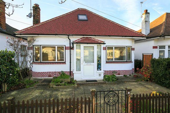 Thumbnail Detached bungalow for sale in Rosecroft Gardens, Twickenham