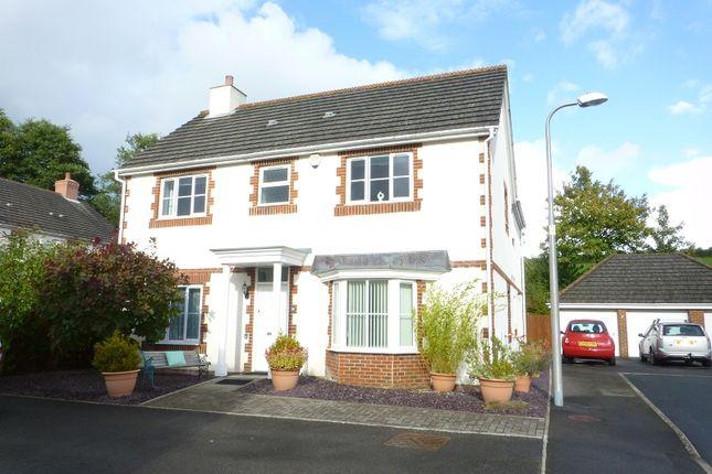 Thumbnail Detached house for sale in Erwr Brenhinoedd, Llandybie, Ammanford, Carmarthenshire.