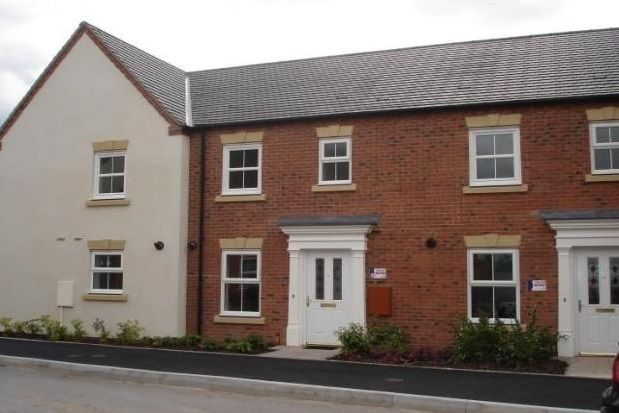 Thumbnail Town house to rent in Drovers Close, Uttoxeter