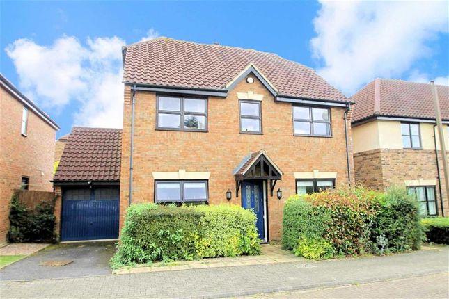 Thumbnail Detached house to rent in Upton Grove, Shenley Lodge, Milton Keynes