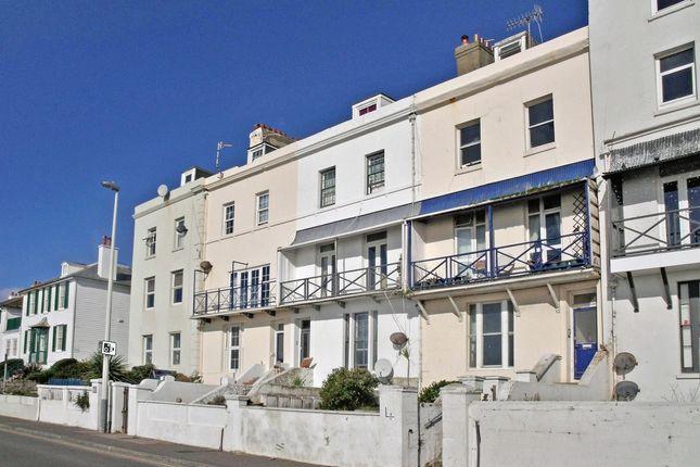 Thumbnail Flat to rent in Wellington Terrace, The Esplanade, Sandgate, Folkestone