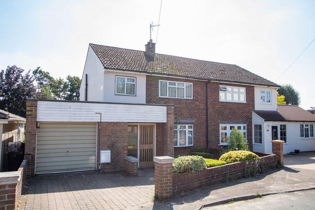 Semi-detached house for sale in Shepherds Way, Saffron Walden