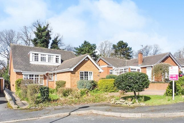 Thumbnail Bungalow for sale in Fairview Close, Littleover, Derby