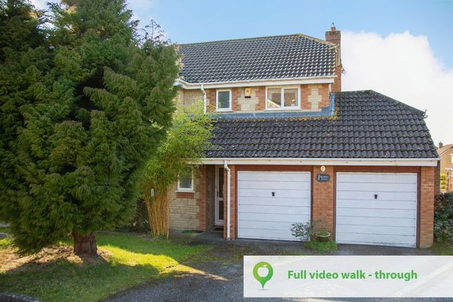 Thumbnail Detached house for sale in Nathan Close, Yeovil