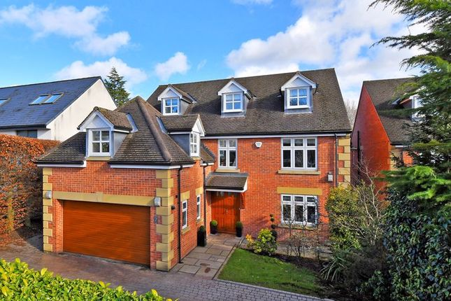Thumbnail Detached house for sale in Whirlow Park Road, Whirlow, Sheffield