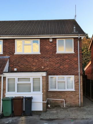 Thumbnail Semi-detached house to rent in Brockhurst Crescent, Delves, Walsall