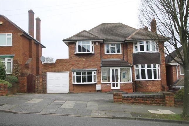 Thumbnail Detached house for sale in Pilkington Avenue, Sutton Coldfield