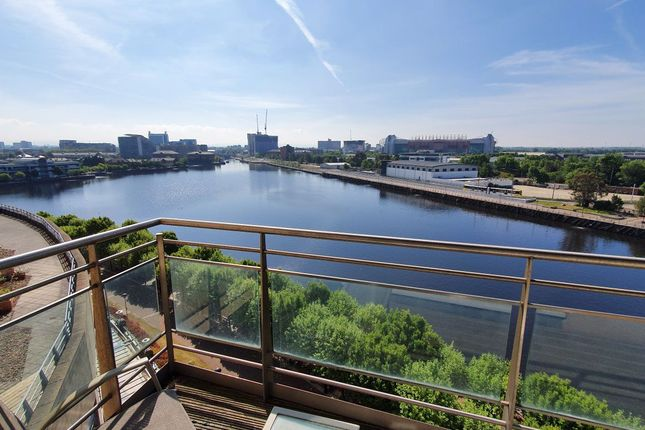 Thumbnail Flat to rent in The Quays, Salford