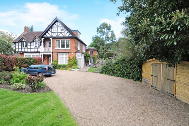 Thumbnail Semi-detached house for sale in Woburn Hill, Addlestone, Surrey