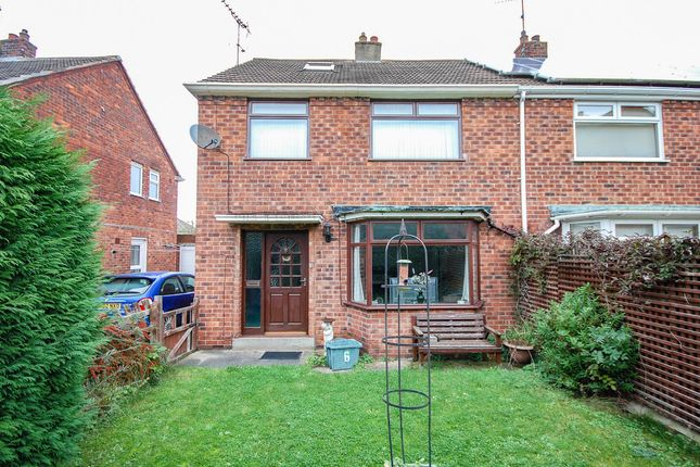 Thumbnail Semi-detached house for sale in Co-Operative Close, Loftus