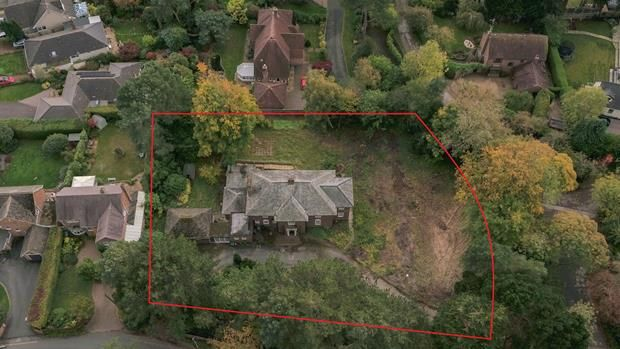 Thumbnail Land for sale in Allandale, Farr Hall Road, Heswall