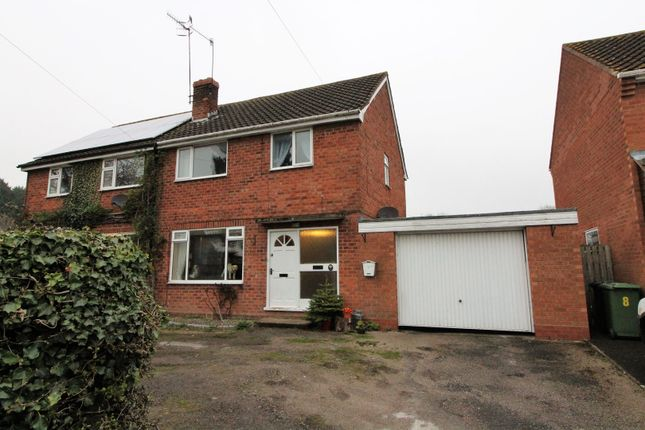 Thumbnail Semi-detached house for sale in School Road, Alcester