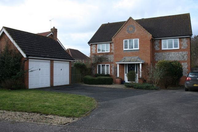 Thumbnail Detached house to rent in Arlington Way, Thetford