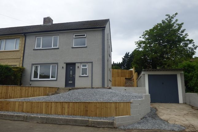 Thumbnail Semi-detached house for sale in Beacons View, Cimla, Neath.